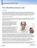 cover page of The Workflow Driven Lab whitepaper
